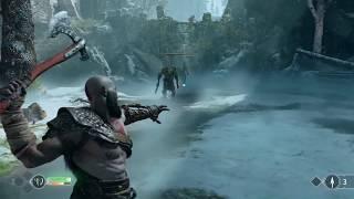 Prezentace God of War v Praze s gameplay záběry