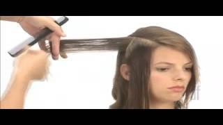 Женская стрижка средние волосы с прядями по плечам