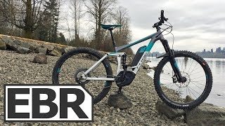 CUBE Stereo Race 160 Pro 500 27.5 Video Review - $6k All Mountain FS Electric Bike