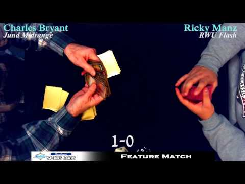 Charles Bryant vs Ricky Manz! Magic: the Gathering Feature Match at NW