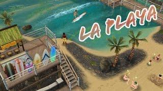 Sims Freeplay || LA PLAYA PÚBLICA (Recorrido + aficiones)