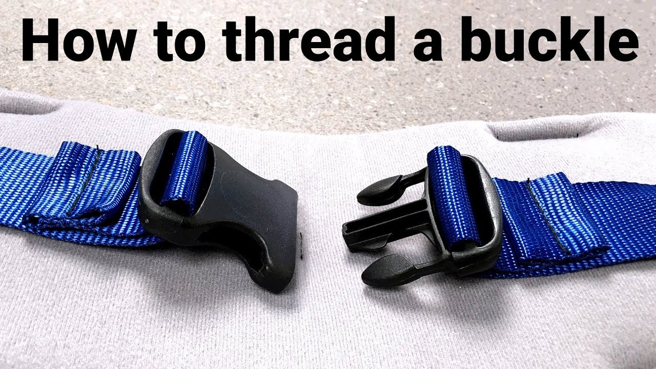 Download How to thread a buckle