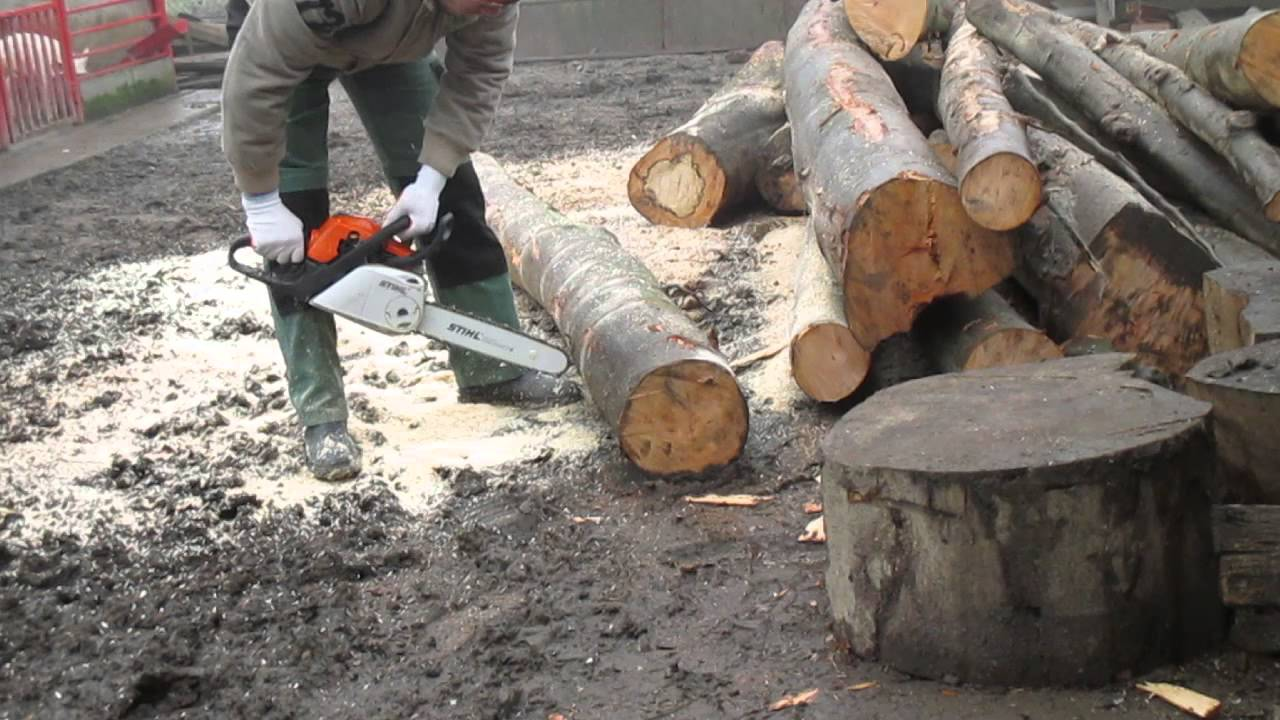 stihl ms 211 c-be part 1 - youtube