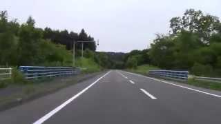 【4倍速】 むかわ町~厚真町~安平町~夕張市街まで2012/6/30