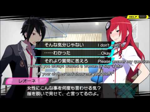 CONCEPTION (PSP): One Hour of English Translated Gameplay