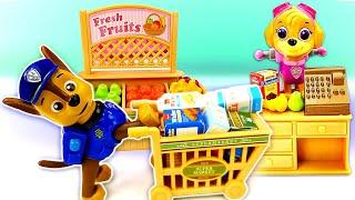 Приключения Тайо настройке— Машины сказки для команды Щенячий патруль— Видео для детей