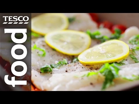 How To Make Baked Fish With Tomatoes And Herbs | Tesco Food