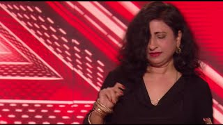 Sophia Ferrial Salsas Her Way Through Her Audition - The X Factor UK PREVIEW on AXS TV