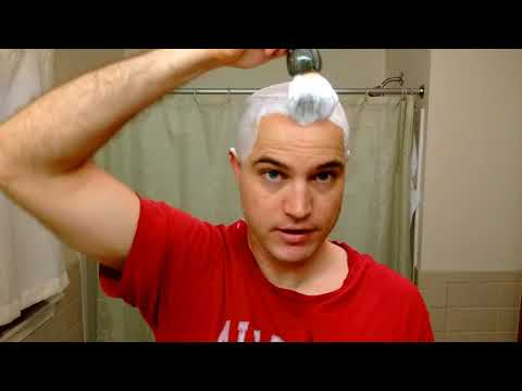 "MERshaving ""Bamboo Grapefruit"", Maggards Slant, Wilkinson Sword Blade Head Shave!!"