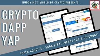 How To Get TRON TRX Energy Crypto Dapp Yap TOKEN GOODIES Full Tutorial