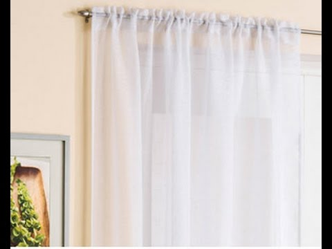 tuto couture comment coudre un rideau fronce a crochets how to sew draped curtain