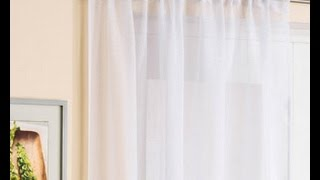 Tuto facile pour vous montrer comment coudre un rideau froncé avec crochets. Mon blog : http://www.samiacreation.com/ Ma page facebook ...