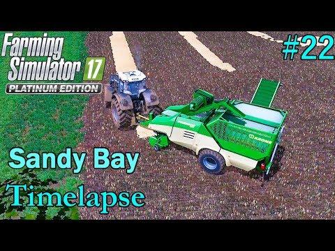 FS17 Timelapse, Sandy Bay #22: Premos Field Work!