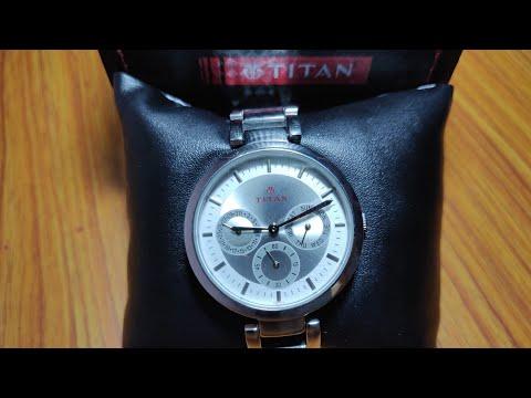 Titan Ladies Wrist Watch NJ2480SM03 . Best Budget Wrist Watch With All Features