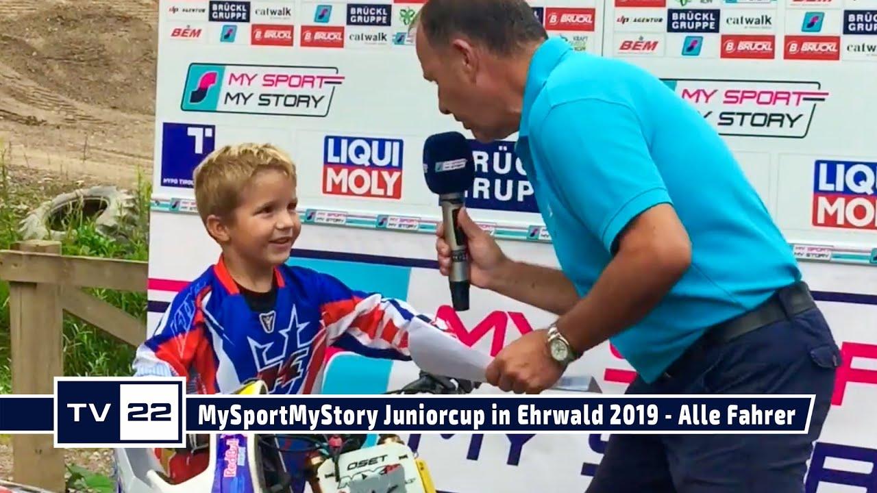 Alle Fahrer des MySportMyStory Motocross Junior Cup in Ehrwald 2019