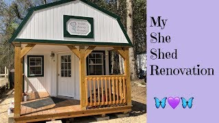 My Graceland Portable Building She Shed Studio Transformation!