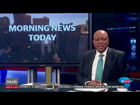 Heavy rain in Cape Town