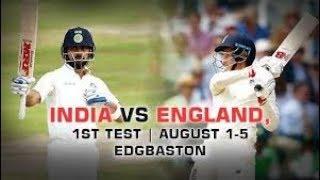 Live: IND Vs ENG 1st Test | Day 4 | Session 1 | Live Scores  | 2018 Series