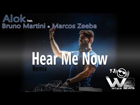 Alok Bruno Martini feat Zeeba - Hear Me Now Wilde Beats Re