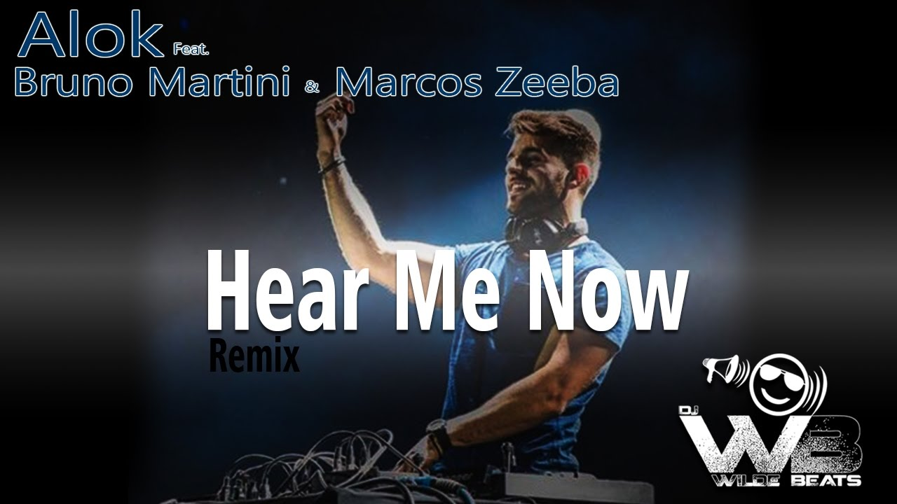 Alok Bruno Martini Feat Zeeba Hear Me Now Wilde Beats Remix