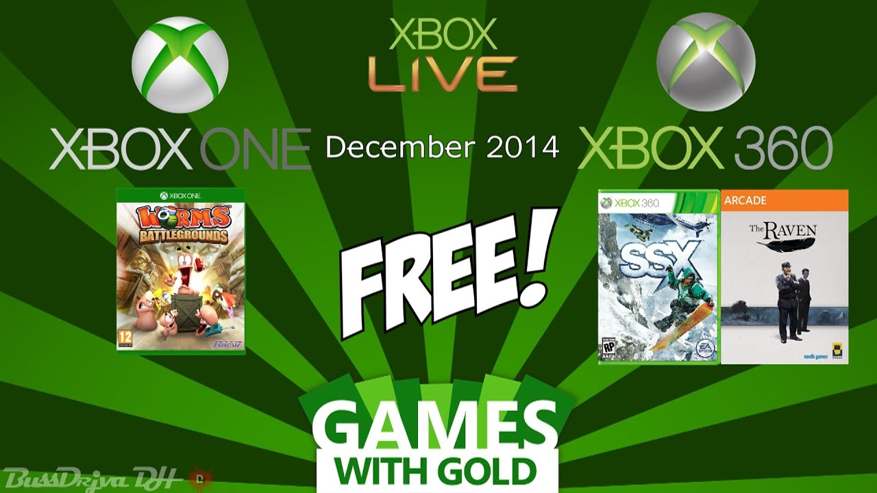 Xbox Free Games With Gold December 2014 Xbox One