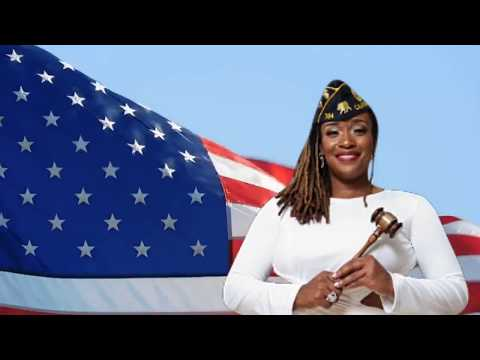 Star Manning 2018 Inglewood's First Female, African American Post Commander