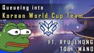 TOP 500 Facing Half of KOREAN WORLD CUP TEAM (Ft. Ryujehong, Tobi, Mano)