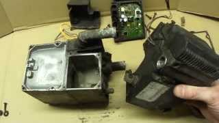 Разборка WEBASTO DW-50/Thermo Top S disassembly