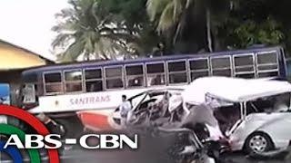 Video TV Patrol: 5 patay, 8 sugatan sa banggaan ng van at bus download MP3, 3GP, MP4, WEBM, AVI, FLV Juli 2018