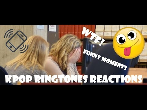 KPop Ringtone Reactions (Social Experiment)