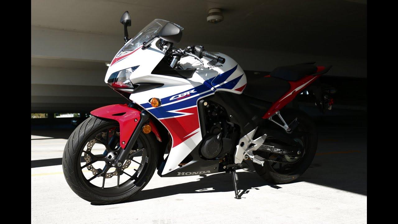My 2014 Honda CBR500R - YouTube