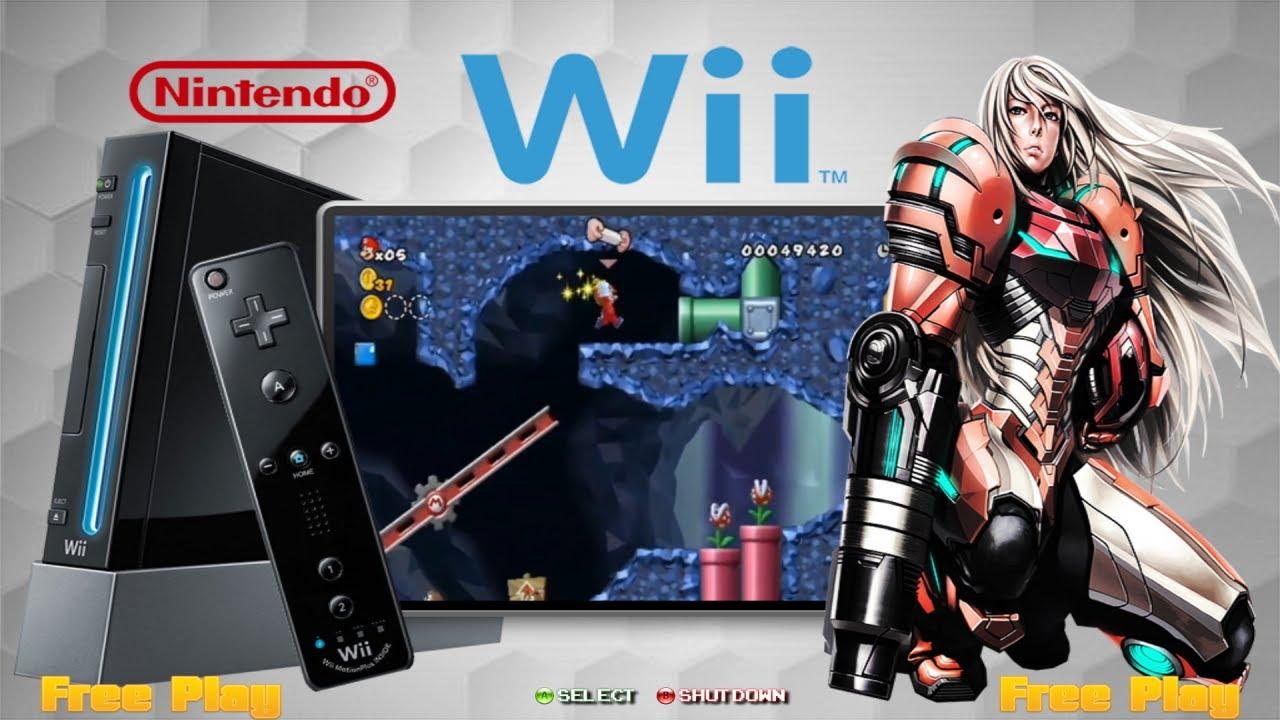 HyperSpin Box - Nintendo WII (ShowCase)