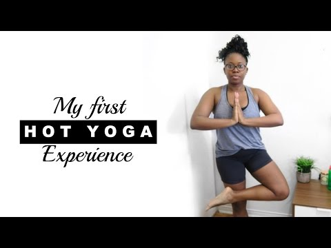 MY FIRST HOT YOGA CLASS EXPERIENCE | I tried it! #4
