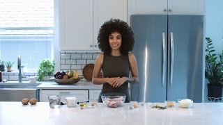 Nikisha Shows You How To Make Her Own Version Jamaican Curry Chicken