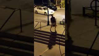 Atlanta man struts his stuff in high heels.