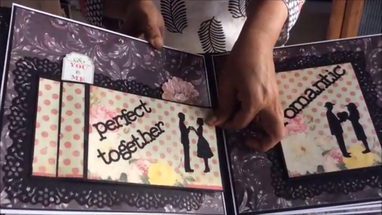 Romantic Scrapbook Diy Cutest Birthday Scrapbook Ideas Handmade