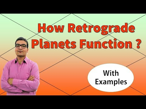 How Retrograde Planets Function? | With Examples | Vedic Astrology
