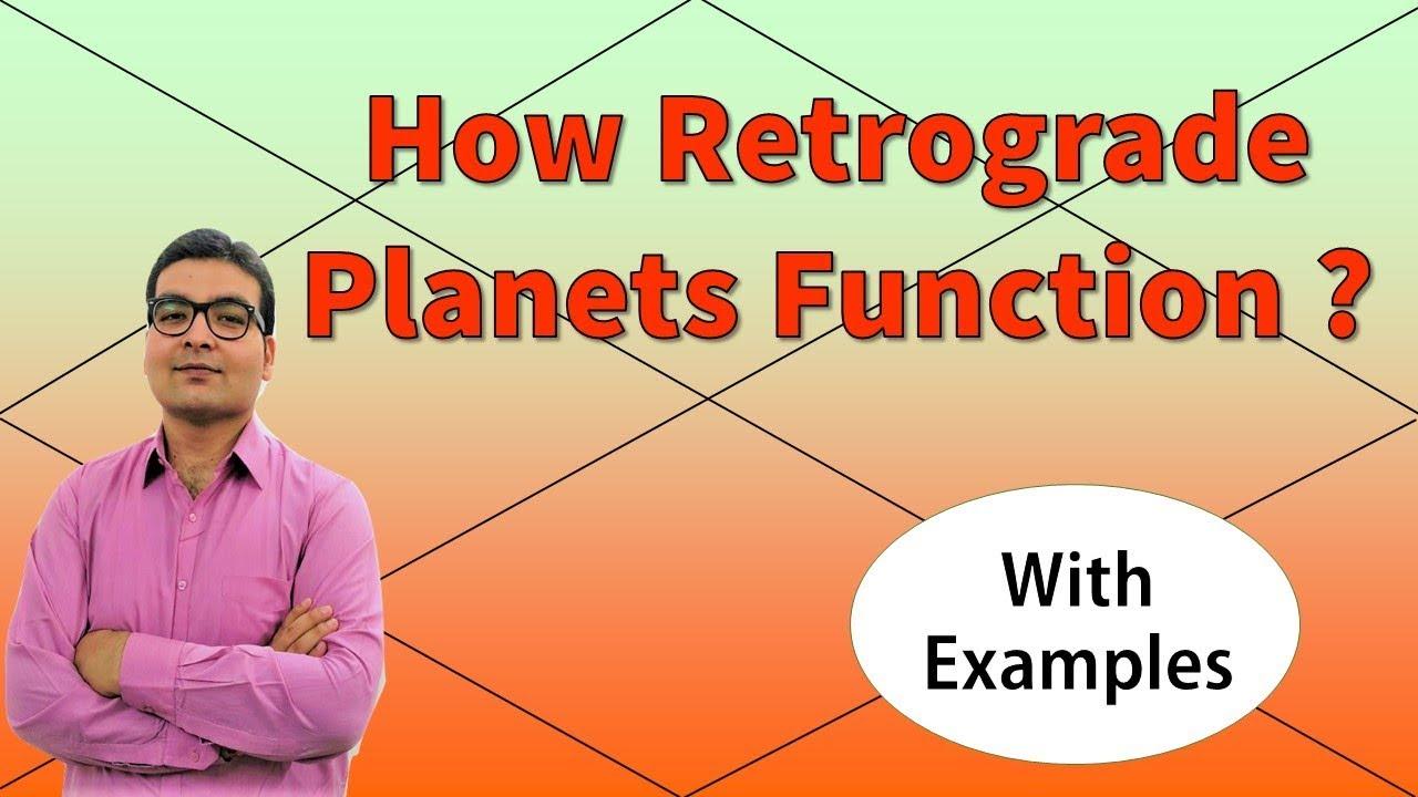 Retrograde Motion in Astronomy
