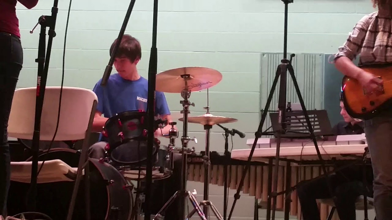 My Brother on the Drums