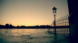 Dresden Elbe Hochwasser - Am Morgen des 5 Juni 2013 ( 05.06.2013 )