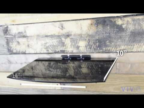 MOUNT-SF011 Floating Shelf Wall Mount By VIVO