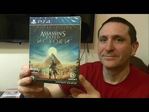Assassin's Creed Истоки. Deluxe Edition (PS4 Pro)