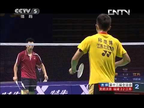 【Liaoning 2013】 Men Group Final Zhang qi VS Qiu yan bo