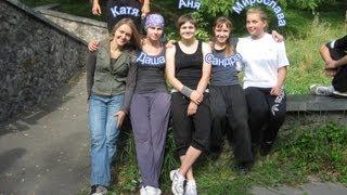 Женский паркур в Киеве за осень 2012 года(Девушки говорят: