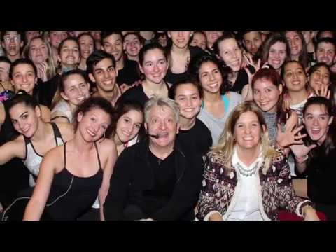 Chet Walker en el 12º Congreso Internacional de Musicales y Óperas Rock