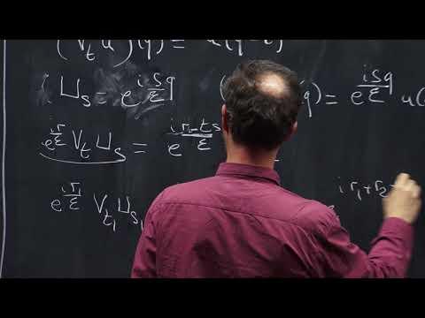 2018 - Francis Nier, Variations sur un théorème de Stone-Von Neumann (1/2)