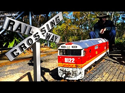 Amazing Diesel Trains In Slowmo At Galston Valley Miniature Railway