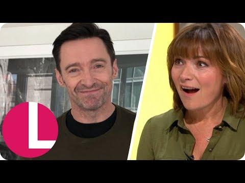 Hugh Jackman Congratulates a Shocked Lorraine After Her Award Win | Lorraine