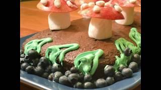映画『スマーフ スマーフェットと秘密の大冒険』 マッシュルームケーキの作り方【レシピ動画】
