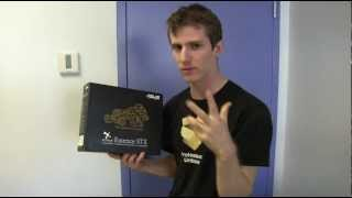 ASUS Xonar Essence STX Premium Amped Sound Card Unboxing & First Look Linus Tech Tips